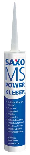 Lepidlo MS Powerkleber 290ml šedé