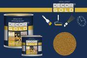 Barva na písmo zlatá 125ml světlá Decor Gold