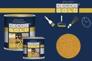 Barva na písmo zlatá 125ml sytá Decor Gold